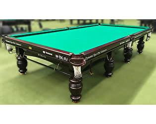 Купить стол Dynamic Billiard Organization бильярдный для русского бильярда Dynamic Refinement 12 футов (махагон)