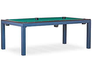 Купить стол Weekend Billiard Company бильярдный для пула Evolution High Tech ЛДСП 6 футов (столовая покрышка в комплекте, венге)