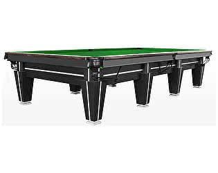 Купить стол Rasson бильярдный для снукера Magnum Pro 12 футов (черный, плита 50 мм в комплекте)