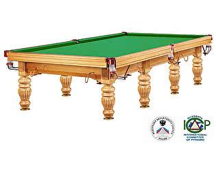 Купить стол Dynamic Billiard Organization бильярдный для русского бильярда Dynamic Prince 12 футов (дуб)