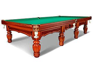 Купить стол WeekEnd бильярдный для русского бильярда Лидер 12 футовутов (корица)
