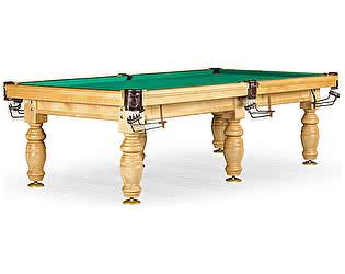 Купить стол Weekend Billiard Company бильярдный для русского бильярда Дебют 10 футов (светлый, плита 25 мм, 6 ног)