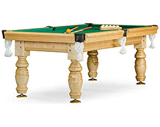 Купить стол Weekend Billiard Company бильярдный для русского бильярда Дебют 8 футов (светлый) ЛДСП