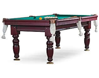 Купить стол Weekend Billiard Company бильярдный для русского бильярда Дебют 8 футов (махагон) ЛДСП