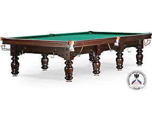 Купить стол WeekEnd бильярдный для русского бильярда Classic II 12 футов (черный орех)