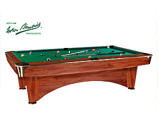 Бильярдный стол для пула Dynamic Billiard Organization Dynamic III 7 футов (коричневый)
