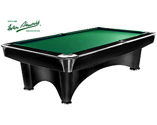 Бильярдный стол для пула Dynamic Billiard Organization Dynamic III 8 футов (черный с отливом)