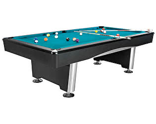 Купить стол Dynamic Billiard Organization бильярдный для пула Dynamic Triumph 8 футов (черный) в комплекте, аксессуары + сукно