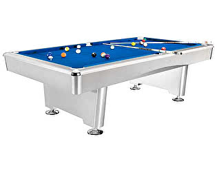 Бильярдный стол для пула Dynamic Billiard Organization Dynamic Triumph 7 футов (матово-белый) в комп