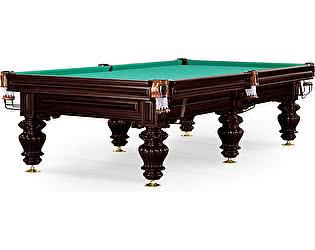 Купить стол WeekEnd бильярдный для русского бильярда Turin 9 футов (черный орех, 6 ног, плита 38мм)