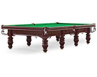 Купить стол Dynamic Billiard Organization бильярдный для русского бильярда Dynamic Prince 12 футов (махагон)