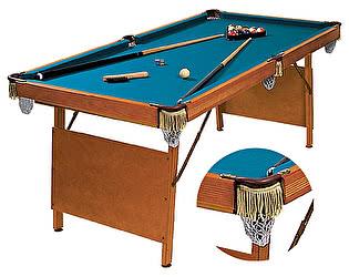 Купить стол WeekEnd бильярдный для пула Hobby 6 футов (в комплекте)