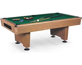Купить стол WeekEnd бильярдный для пула Eliminator 7 футов (дуб) в комплекте, аксессуары + сукно