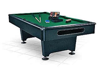 Бильярдный стол для пула WeekEnd Eliminator 7 футов (черный) в комплекте, аксессуары + сукно