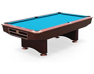 Бильярдный стол для пула Dynamic Billiard Organization Competition 9 футов (махагон) в комплекте, ак