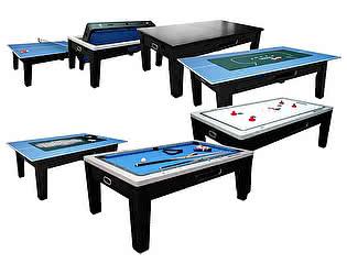 Купить  Dynamic Billiard Organization Игровой стол - многофункциональный Dybior Mistral (черный)
