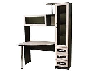 Стол компьютерный Мебельный двор БОНУС-2 (двуцветный)