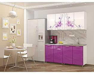 Кухня Пенза мебель МДФ с фотопечатью Вдохновение 1,6 м