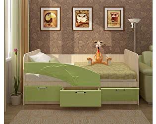 Купить кровать Олимп-Мебель Дельфин МДФ 2,0 м.