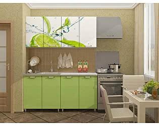 Кухня Пенза мебель МДФ с фотопечатью Лайм 1,6 м