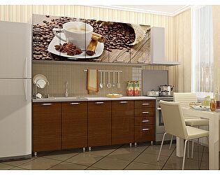 Кухня Пенза мебель МДФ с фотопечатью Кофе 2м
