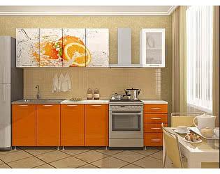 Кухня Пенза мебель ЛДСП 2м Апельсин