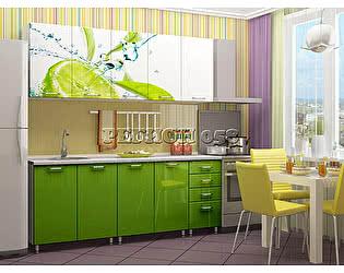 Кухня Пенза мебель МДФ с фотопечатью Лайм 2,0 м