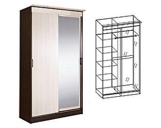 Шкаф-купе МебельМаркет Светлана 2-х створчатый с зеркалом