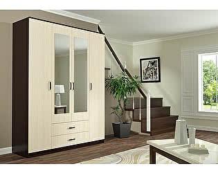 Шкаф Пенза мебель Фиеста 4-створчатый