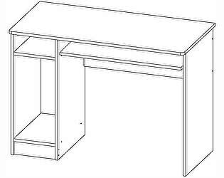 Стол компьютерный Олимп-Мебель Лего-4 (1050х520х754 мм)