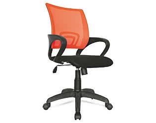 Кресло Мирэй Групп Формула, спинка сетка оранжевая