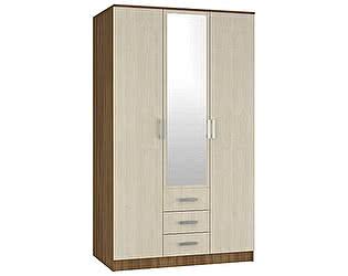 Шкаф распашной МебельМаркет Светлана - SL 3-х створчатый комбинированный с зеркалом