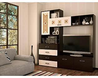 Гостиная Пенза мебель Белла - центральная секция (2000х2120х470)
