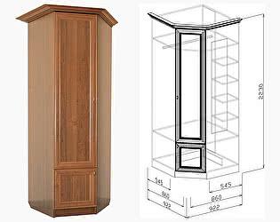 Шкаф угловой Союз-Мебель Диана Люкс №18