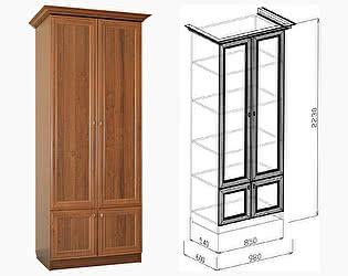 Шкаф Союз-Мебель Диана Люкс №14 бельевой