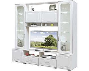 Гостиная Союз-Мебель Нежность витрина №1