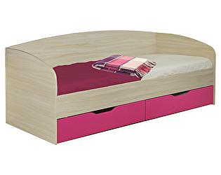 Кровать Союз-Мебель Акварель №10 (с ящиками)