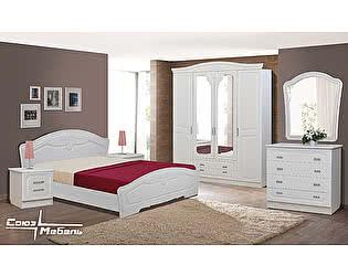 Спальня  Союз-Мебель Ева1