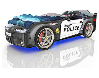Кровать-машинка Romack Mebel Romack Kiddy (Полиция)