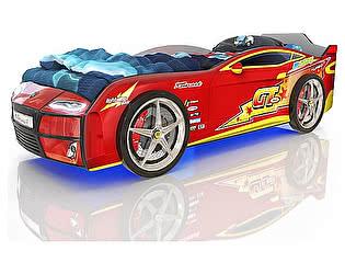 Кровать-машинка Romack Kiddy Красная молния