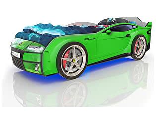Кровать-машинка Romack Mebel Romack Kiddy (Зеленая)