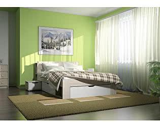 Кровать Стиль Палермо-2 (1400 мм) двухспальная
