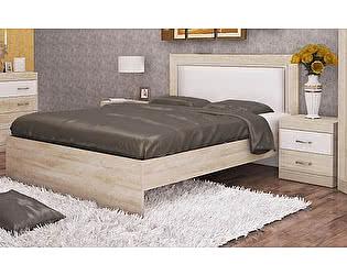 Кровать 160 с мягким элементом (без основания) Заречье Ника, мод.Н20