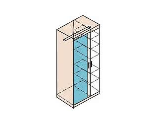 Шкаф для одежды Заречье Ника, мод.Н11
