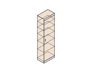Шкаф для белья Заречье Ника, мод.Н22