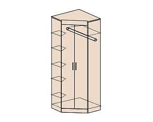 Купить шкаф Заречье угловой без зеркала Ника, мод.Н5
