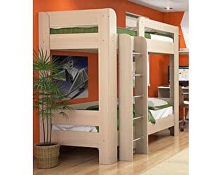 Кровать 2х ярусная 90 с основанием Заречье Вегас, В23
