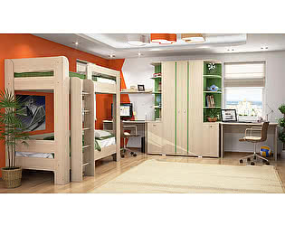 Мебель для детской Заречье Вегас, комплектация 2