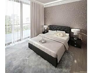 Кровать Армос Кристалл-2 со стразами