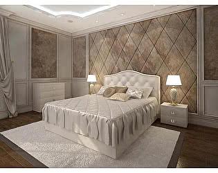 Кровать Армос Кристалл-4 с пуговицами